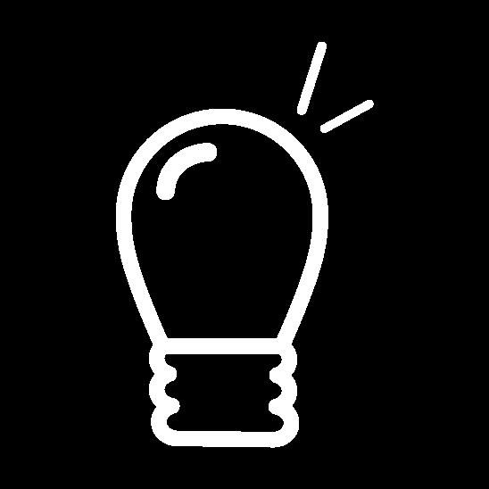 lamp icoon wit