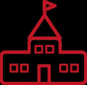 Schoolcampus icoon